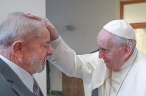 Papa Francisco e Lula(Ricardo Stuckert)