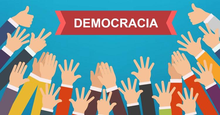 """No Oriente, outras formas de governo, que não a democracia, """"vão ..."""