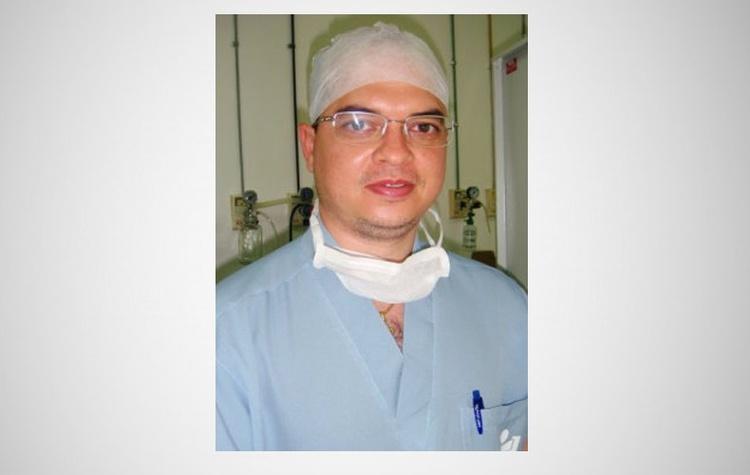Médico anestesista Fábio Carvalho, 39 anos.