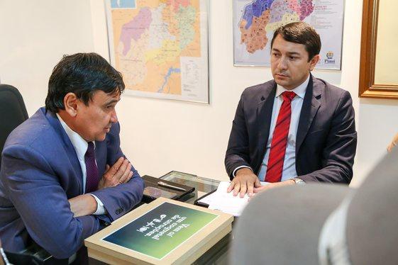 Wellington Dias e Magno Soares
