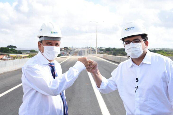 Governador Wellington Dias e Rafael Fonteles