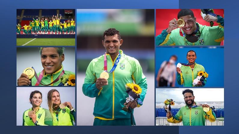 Brasil fecha Olimpíadas de Tóquio na melhor posição da história no quadro  de medalhas - Pensar Piauí